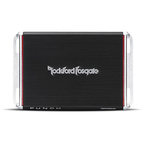 Rockford Fosgate PBR400X4D Punch Compact Chasis Amplificador