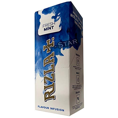 Rizla Aromatik-Karten – Infusions-Karten – 25 Packungen – komplette Box