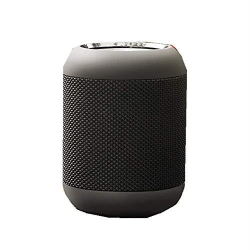 NBLL Altavoz Inteligente Recargable, Mini Altavoz inalámbrico Bluetooth, Negro, ABS, Aceite de...