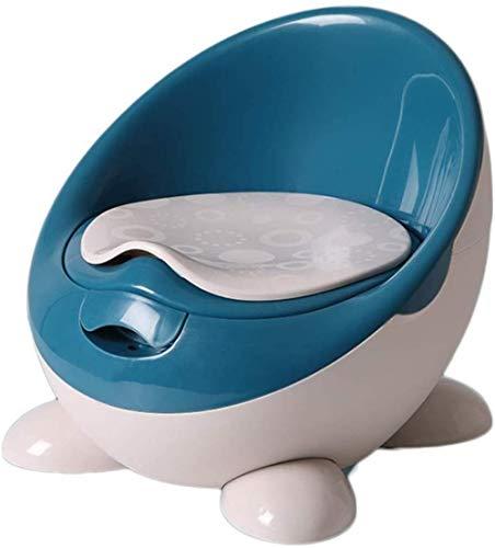 Ménage Potty, Formation Baby Plastique Kid Toilettes Anneau Facile à Nettoyer, Amovible Voyage Chaise Potty (Color : Blue)