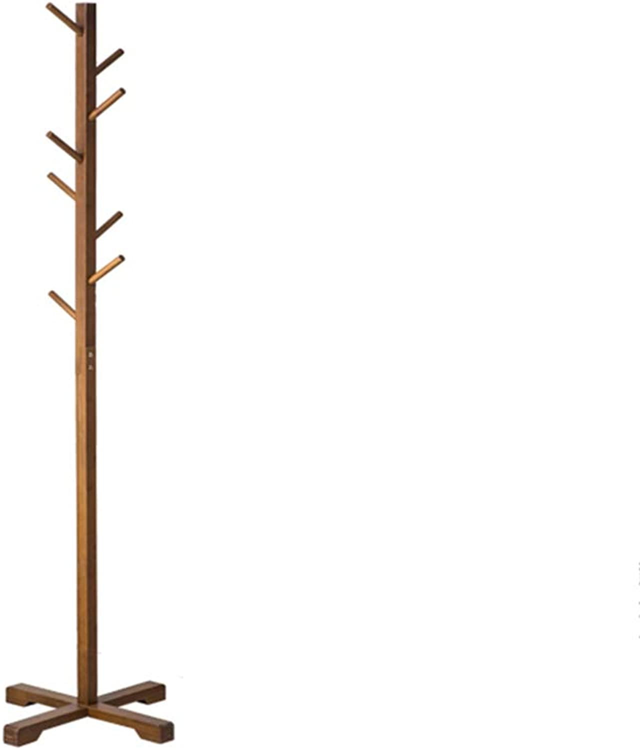 Coat Rack, Simple Bamboo Erect Hanger Floor Home Bedroom Simple Clothes Rack Clothes Hook (color   B)