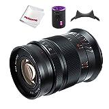 7artisans 60mm F2.8 II V2.0 APS-C Objetivo Macro, Compatible con cámaras Sony E-Mount Cámaras Sony A5000 A5100 A6000 A6100 A6300 A6400 A6500 A6600
