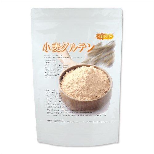 小麦グルテン800g活性粉状小麦たん白(gluten) 遺伝子組み換え不使用 [02] NICHIGA(ニチガ)