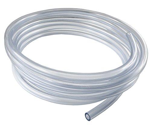 25 Meter - PVC-Schlauch ohne Gewebeeinlage - Lebensmittelqualität - Druckluftschlauch Wasserschlauch (Innen x Außen: 10 x 14 mm)