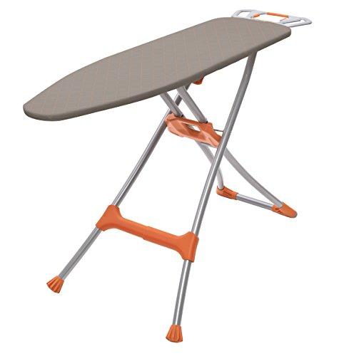 Homz Durabilt Ironing Board, Made in the USA, Orange