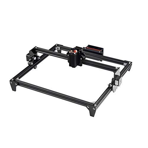 LINDANIG 400x300mm Mini Laser 2500MW Laser CNC Machine de Gravure 3D Imprimante Bricolage Bureau Graveuse Bois Routeur Cutter imprimante Laser Lunettes (Couleur : US)