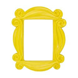 FREESTANDING OR WALL MOUNTED: This wonderful piece of Friends memorabilia allows you to have the iconic peephole picture frame from Monica and Rachel's apartment in your own home. Measures 18 x 16 x 2 cm. ICONIC: Perfect for your favourite pictures o...