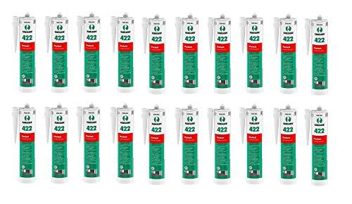 20 x Ramsauer 422 Parkett Acryl helle Esche/Ahorn/Brike 1K Dichtstoff 310ml Kartusche