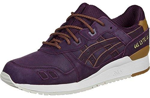 Asics Tiger Gel-Lyte III Unisex-Sneaker H6V1L-5252 Rioja Red Gr. 42 (US 8.5)