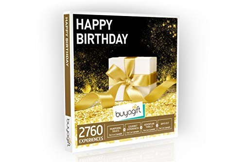 Photo of Buyagift Happy Birthday Gift Experiences Box – Over 2760 Experiences for One or Two People
