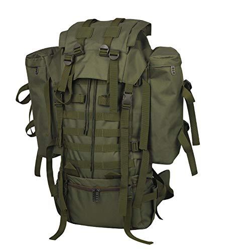 Ssszx Trekkingrugzak 80 l militaire tactische rugzak camouflage mannen en vrouwen campingtas klimmen wandelrugzak