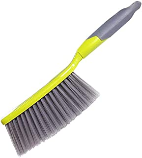 Plastic Broom Brush Sweeping Dust Antistatic Quick Cleaning Detachable Wall-Mounted (Color : Green, Size : 31x6cm) (Color ...