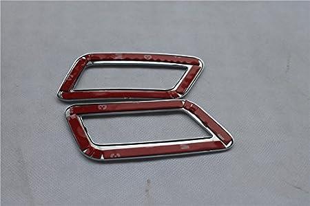 2 piezas accesorios para el coche Cubierta decorativa para la salida interior de aire acondicionado