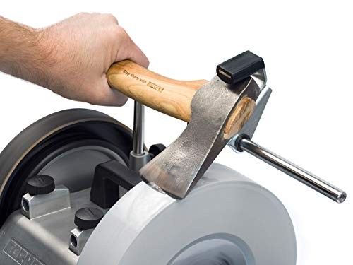 TORMEK Schärfvorrichtung SVA-170 Jig Macht das Schärfen schnell und intuitiv für Fast alle geformten Schnitz-oder Schreiner-Axte