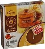 Maxi Velas de té, aromáticas, antitabaco