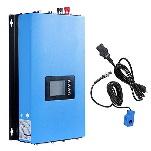 ECO-WORTHY 1000W Solar Power on Grid Inverter w/Limiter Wechselrichter Mppt DC22-65V