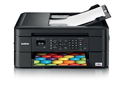 Brother MFC-J480DW Stampante Multifunzione Inkjet All In One con Fax, Nero