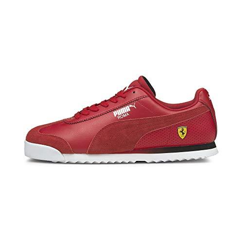 PUMA Scuderia Ferrari Roma Herren Motorsportschuhe Rosso Corsa-Puma White 9.5