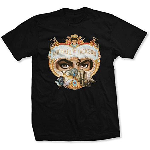 Michael Jackson Dangerous offiziell Männer T-Shirt Herren (X-Large)