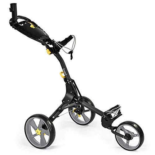 iCart Compact Evo Push Trolley Black/Grey