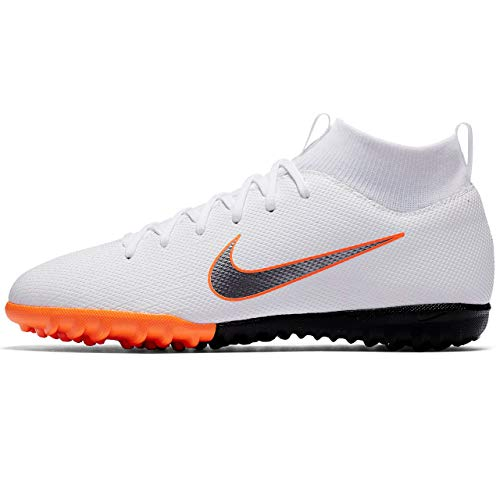 Nike Mercurial Superflyx Vi Academy TF, Zapatillas de Fútbol Unisex Niños, Blanco (weiß weiß), 38 EU