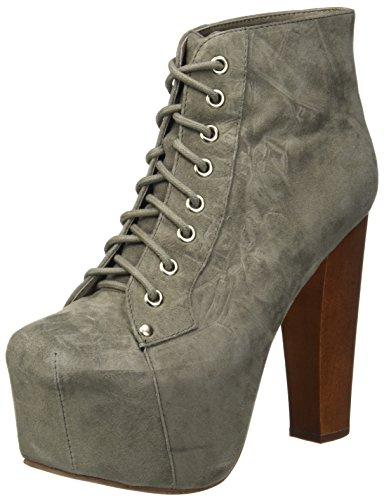 Jeffrey Campbell Lita Suede, Zapatos de tacón con Punta Cerrada Mujer, Gris (Grigio), 39 EU
