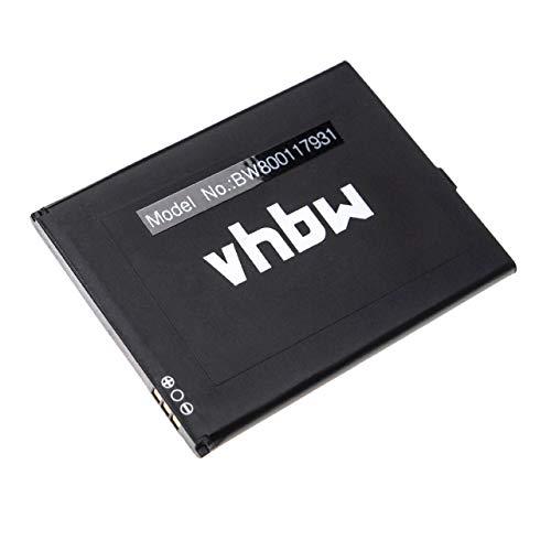 vhbw Li-Ion Akku 2200mAh (3.8V) für Handy Smartphone Telefon Cubot X12