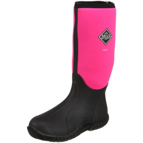 The Original MuckBoots Women's Tack Classic Limited Edition Boot,Hot Pink,5 M US Womens