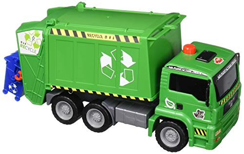 Dickie Toys 12' Air Pump Action Garbage Truck Vehicle (Styles May Vary)