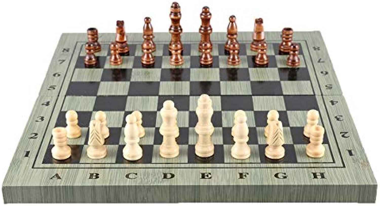 a precios asequibles DEH Juego de ajedrez magnético Plegable de de de ajedrez Internacional Plástico de ajedrez portátil - Negro y blancoo (25x13x3cm)  promociones de equipo