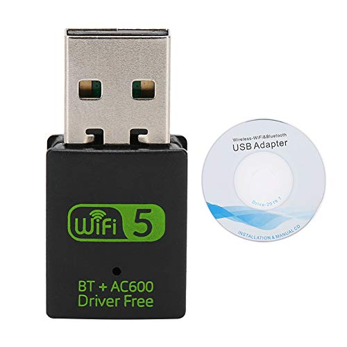 frenma Tarjeta de Red RTL8821CU WiFi, Dongle WiFi 2 en 1, para tabletas Windows7 / 8/8.1/10 / XP