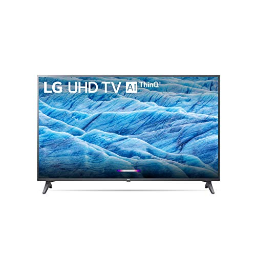 LG Smart TV 55' LED 4K HDR 120Hz, AI ThinQ, BT con Alexa Modelo 55UM7300AUE (Renewed)