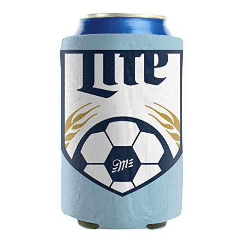 sknkdhgiJ Can Coolers Sleeves Miller-Lite-Football- Beer Funny Party Gift Cans Cooler Sleeve Pack of 2 Plain