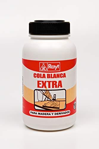 Rayt | Cola blanca extra rápida múltiples usos: madera, papel, cartón, cerámica y todo tipo de materiales porosos | 1kg | Ref. 296-09
