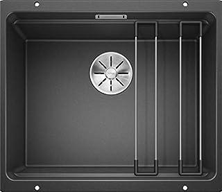 BLANCO ETAGON 500-U – Granitspüle aus SILGRANIT für die Küche für 60 cm breite Unterschränke – Unterbau – grau – 522227 (B01MZYO2ER) | Amazon price tracker / tracking, Amazon price history charts, Amazon price watches, Amazon price drop alerts