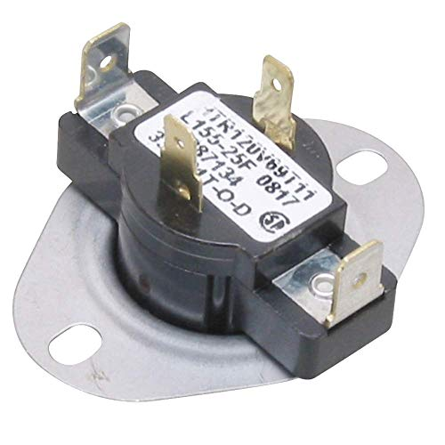 Price comparison product image Edgewater Parts AP2106564 Thermostat 4 Wire Compatible With Frigidaire,  Maytag,  Sears,  and Kenmore Dryers