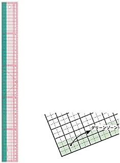 方眼定規50cm25-052 【個】
