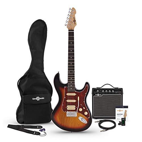 Pack avec Guitare Électrique LA Select HSS et Ampli...