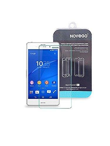 NOVAGO Pellicola Proteggi-schermo in Vetro Temperato per Sony Xperia Z3 Compact