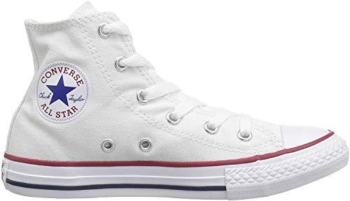 Converse Unisex-Kinder Chuck Taylor All Star Classic Colors für Kleinkinder und Jugendliche Sneaker, Weiß - Blanc, Rouge et bleu, 28.5 EU
