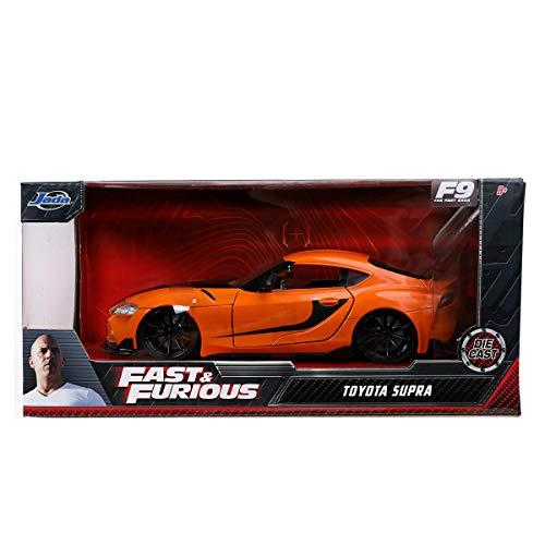 ワイルド・スピード ジェットブレイク ジェイダトイズ メタルズ 1/24 スケール ダイキャストカー トヨタ GR スープラ / FAST AND FURIOUS 9 JADA TOYS 2021 DIE CAST CAR TOYOTA GR SUPRA ワイスピ 映画 F9 新型 [並行輸入品]
