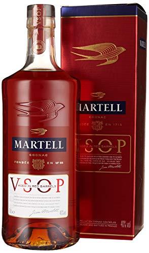 Martell V.S.O.P. Medaillon Cognac mit eleganter Verpackung – Einzigartiger Cognac mit fruchtigem Geschmack – Ideal für besondere Anlässe geeignet – 1 x 0,7 L