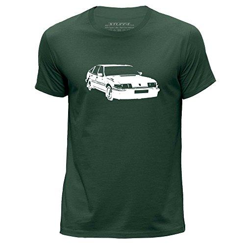 Stuff4 Heren T-Shirt/Stencil Auto Art / SD1 Vitesse/Ronde hals Casual Korte Mouw 100% Organisch Katoen