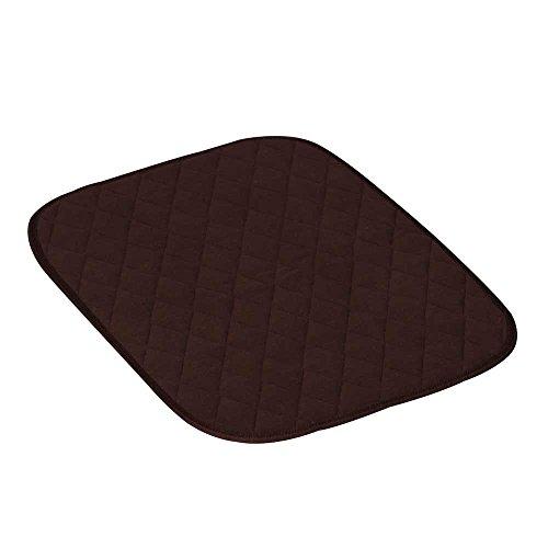Behrend Sitzauflage, Sitz-Unterlage, Stuhlauflage, Inkontinenz, wasserundurchlässig, 40x50cm, braun