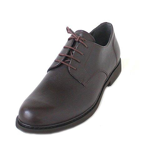 Camper Neuman Oxfords, Zapatos de Cordones Derby Hombre, Braun (Dark Brown 200), 44