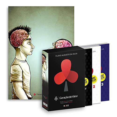 BOX GERAÇÃO DE VALOR - CÉREBRO: (volumes 1, 2, 3 + pôster exclusivo cérebro)
