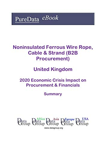Noninsulated Ferrous Wire Rope, Cable & Strand (B2B Procurement) United Kingdom Summary: 2020 Economic Crisis Impact on Revenues & Financials (English Edition)