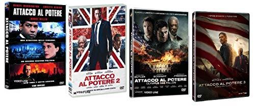 Attacco al Potere - Quadrilogia (4 Film DVD) - Edizione Italiana