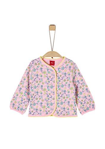s.Oliver Junior 405.10.004.14.150.2020558 Strickjacke, Baby - Mädchen, Rosa 74 EU