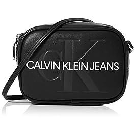 Calvin Klein Sculpted Monogram Camera Bag, Sacs bandoulière appareil photo pour femme